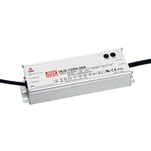 Nguồn Meanwell HLG-120H-36AB (122.40W/36V/3.40A) 1