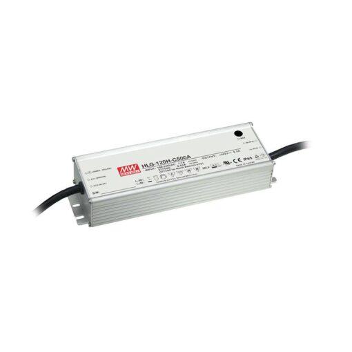 Nguồn Meanwell HLG-120H-C500B (150W/300V/500mA) 1