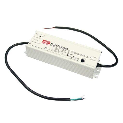 Nguồn Meanwell HLG-80H-54AB (81.00W/54V/1.50A) 1