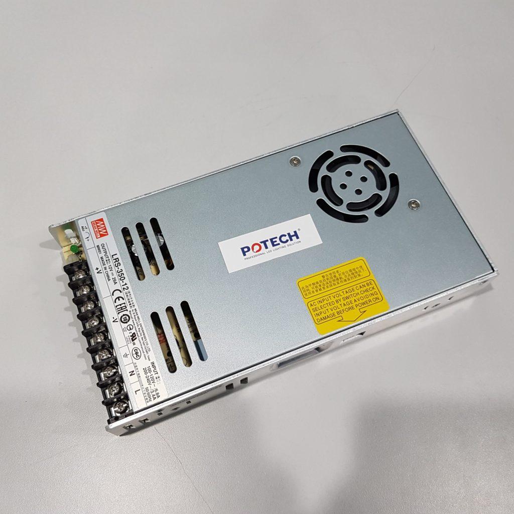 Vì sao bộ nguồn Meanwell LRS - 350 được tin dùng trong nhiều ứng dụng quan trọng. 1