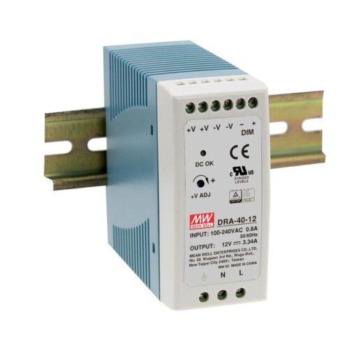 Nguồn Meanwell DRA-40-24 (40.08W/24V/1.7A) 1