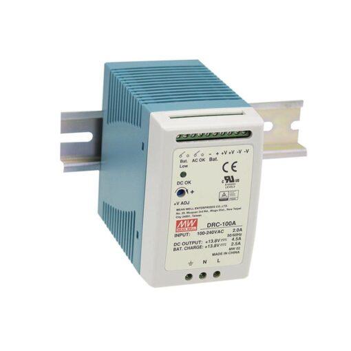 Nguồn Meanwell DRC-100B (96.6W/27.6V/0~1.25A) 1
