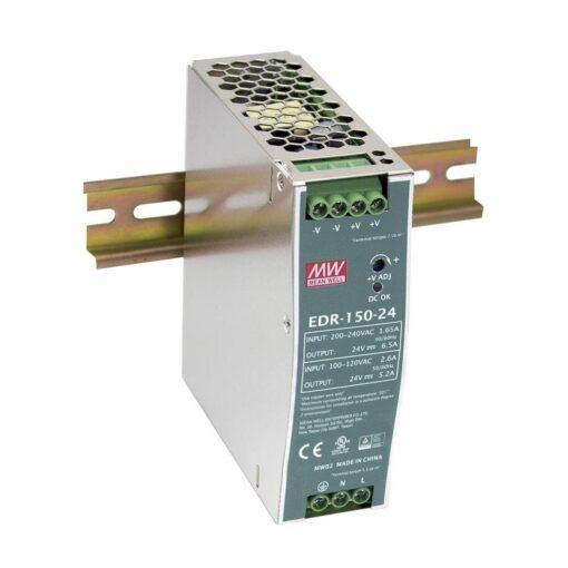 Nguồn Meanwell EDR-150-24 (150W/24V/6.5A) 1