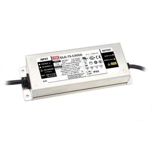 Nguồn Meanwell ELG-75-C500 (75W/150V/500mA) 1