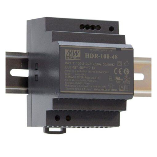 Nguồn Meanwell HDR-100-15 (92W/15V/6.13A) 1