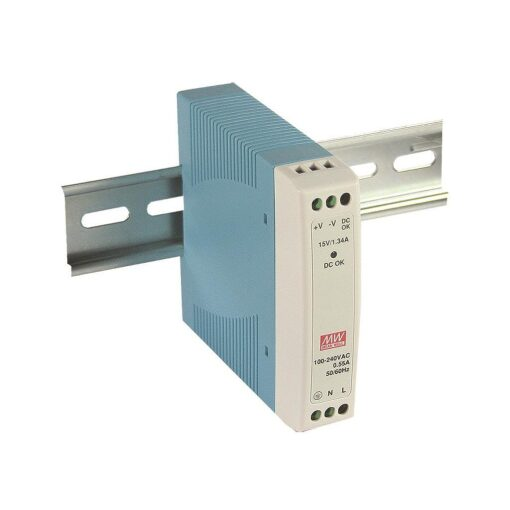 Nguồn Meanwell MDR-10-15 (10.05W/15V/0.67A) 1