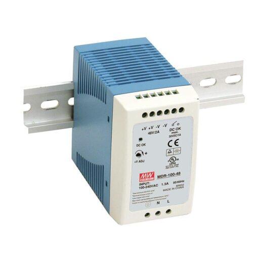 Nguồn Meanwell MDR-100-48 (96W/48V/2.00A) 1