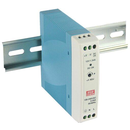 Nguồn Meanwell MDR-20-5 (15W/5.0V/3.00A) 1