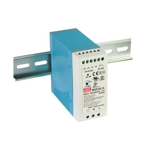 Nguồn Meanwell MDR-40-12 (39.96W/12V/3.33A) 1