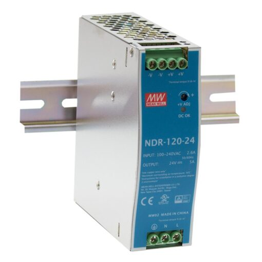 Nguồn Meanwell NDR-120-12 (120W/12V/10A) 1