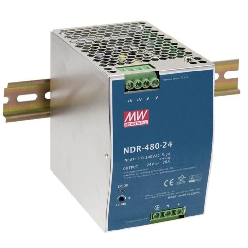 Nguồn Meanwell NDR-480-24 (480W/24V/20A) 1