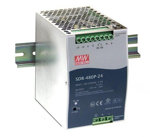 Nguồn Meanwell SDR-480P-24 (480W/24V/20.00A) 1
