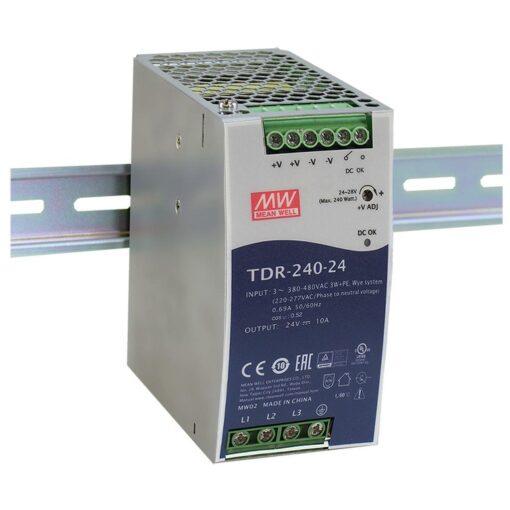 Nguồn Meanwell TDR-240-24 (240W/24V/10A) 1