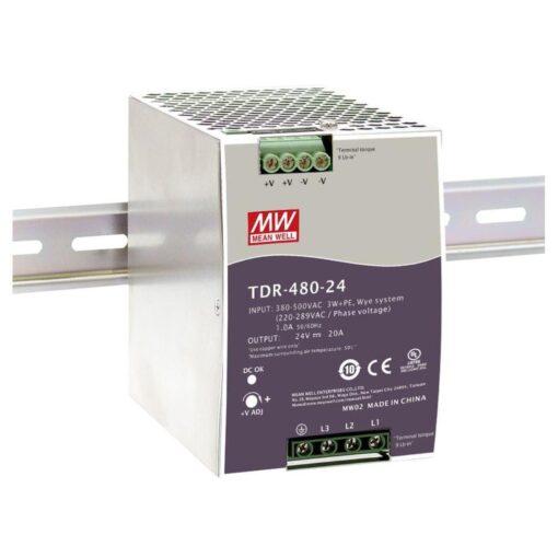 Nguồn Meanwell TDR-480-24 (480W/24V/20A) 1