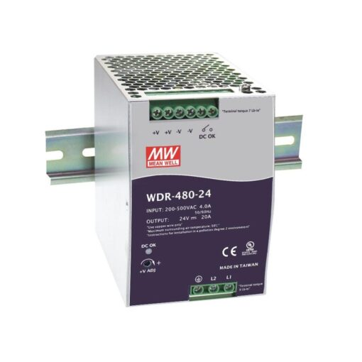 Nguồn Meanwell WDR-480-48 (480W/48V/10A) 1
