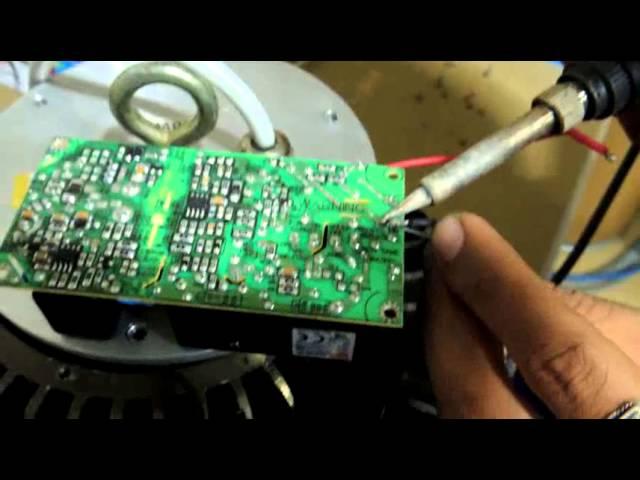 Những lý do LED Driver cho đèn LED High Bay hỏng 1